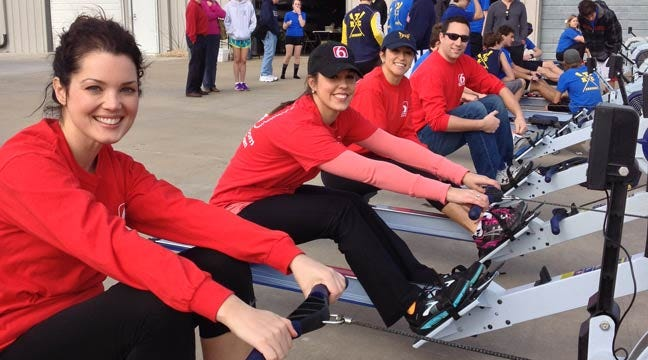 News On 6 Rowing Team Takes First At Celebrity Row-Off