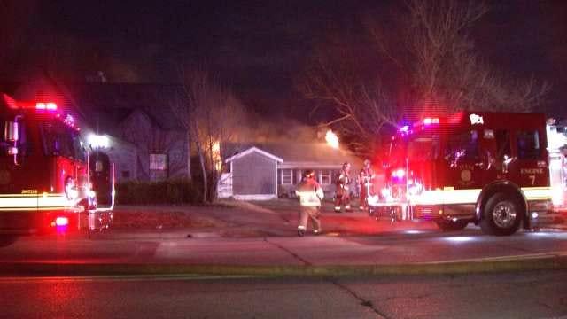 Fire Damages Tulsa House Under Renovation