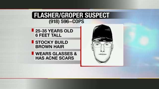 Police Connect Another Case To Tulsa Metro Area Groping Suspect