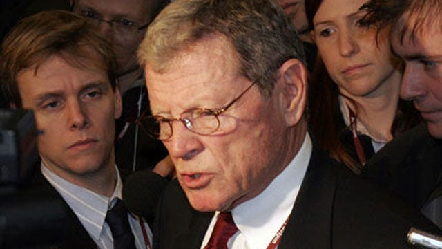 Inhofe Says He Won't Support Hagel As Defense Secretary