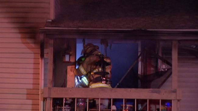 Firefighters: Man Cooking Meth Catches Tulsa Apartment On Fire