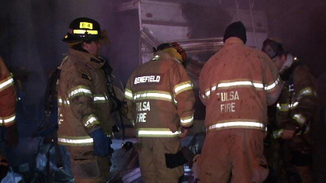 Space Heater Blamed For Tulsa RV Fire