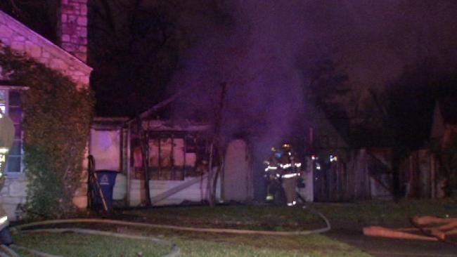 Fire Damages Vacant Tulsa Home