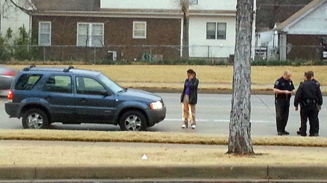 Girl, Man Struck Crossing Two Tulsa Streets