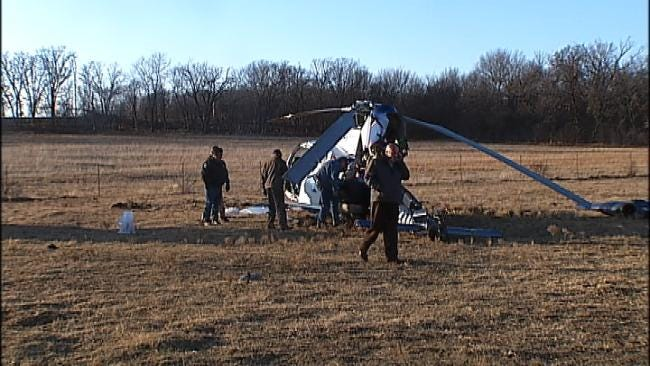 NTSB Says Pilot Reported Power Failure Before Medi Flight Helicopter Crash