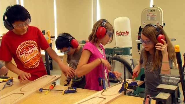 Student Engineers Design Skateboards At Fab Lab Tulsa