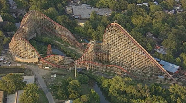 Woman Dies While Riding 'Texas Giant' Roller Coaster At Six Flags