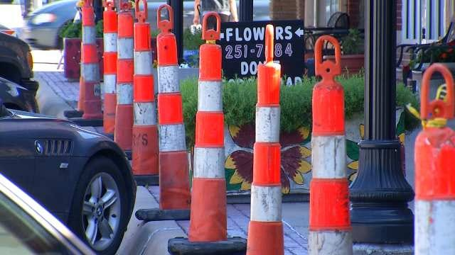 Broken Arrow Business Owners Adjust While Downtown Goes Under Construction