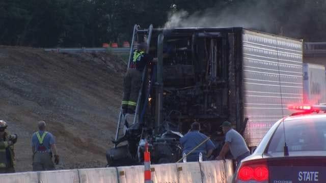 OHP Identifies Trucker Killed Crossing Will Rogers Turnpike After Wreck Near Adair