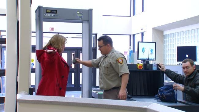 Deputies Warn Security Always On Alert At Tulsa County Courthouse