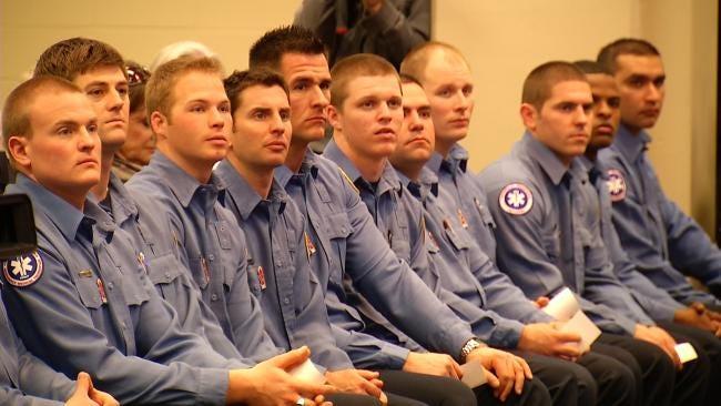 Latest Tulsa Fire Academy Graduating Class Sworn In