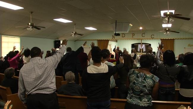 Tulsa Friends, Church Family Come Together To 'Stop Violence'