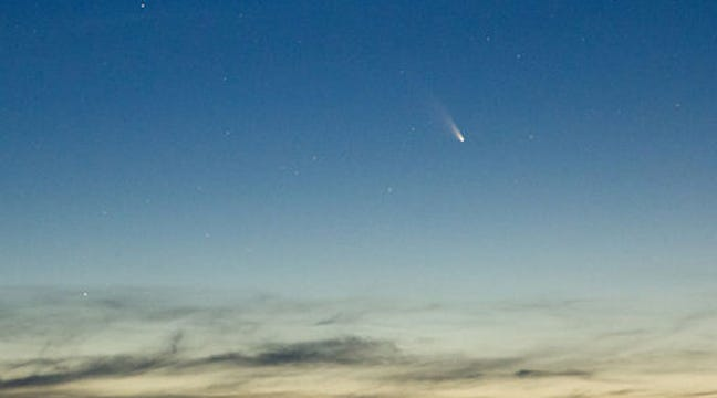 'Naked-Eye' Comet Provides Sky Watching Chances In March