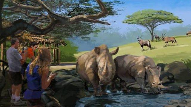 Tulsa Zoo To Unveil New Rhinoceros Exhibit Plans