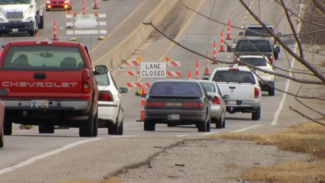 All Lanes Reopen On West 71st Street Near Tulsa Hills Shopping Center