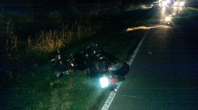 Motorcyclist Seriously Injured In Crash Caused By Deer In Collinsville