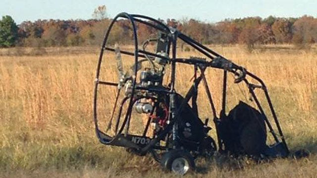 Grove Pilot Cited For DUI After Ultra-Light Aircraft Hits Truck