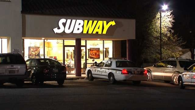 Armed Robber Steals Tip Jar From Tulsa Subway Restaurant