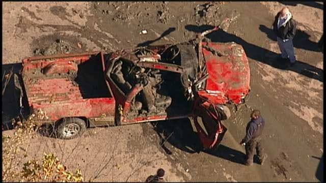 OHP Suspending Efforts To Recover Sunken Vehicles In Rogers County