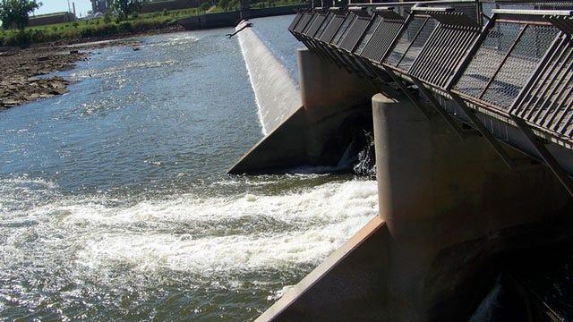 Work Begins On Zink Dam In Tulsa