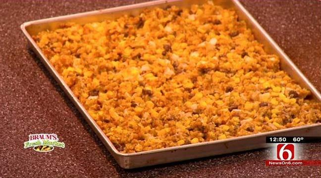 Cornbread Stuffing with Sage