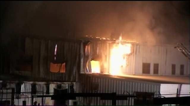 Fire Damages UPCO Building In Verdigris