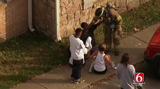 Police Arrest Aunt Of Children Killed In Tulsa Apartment Fire