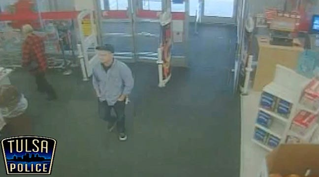 Tulsa Police Look For Suspect In Kmart Gold Jewelry Theft