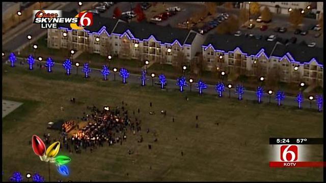 University Of Tulsa Kicks Off Holiday Season With 2nd Annual 'Night Light'
