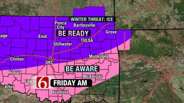 Northeastern Oklahoma Braces For Blustery Weather