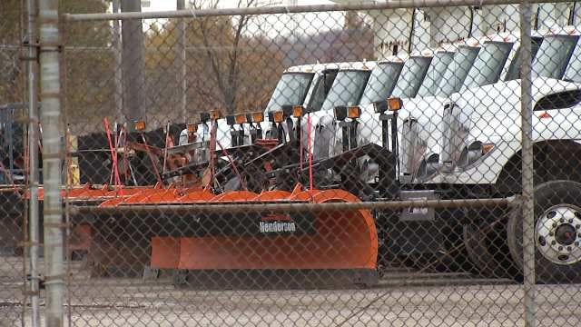 Tulsa City Crews Prepared For Possible Winter Weather