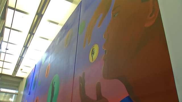 Inspirational Mural Unveiled At Tulsa County Jail