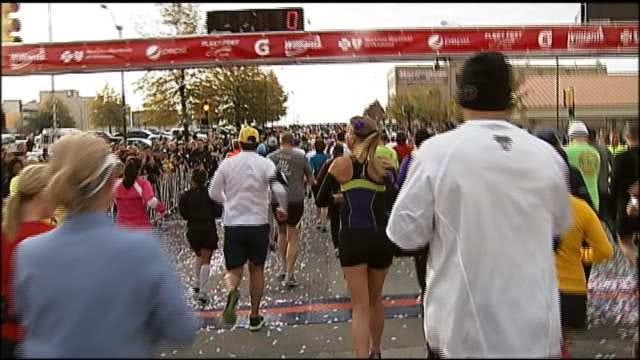 Thousands Prepare For Tulsa's Route 66 Marathon