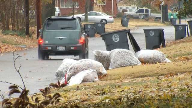 City Of Tulsa Dealing With Increase In Green Waste With Falling Leaves