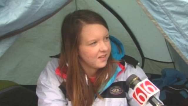 OSU Students Camp Out To Be In Crowd For ESPN's 'College Gameday'