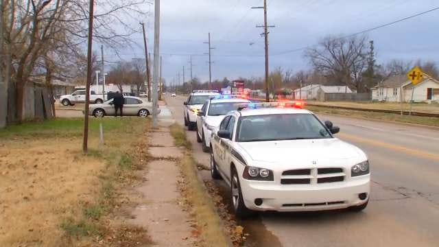 Police Arrest Man And Grandson In West Tulsa Shooting