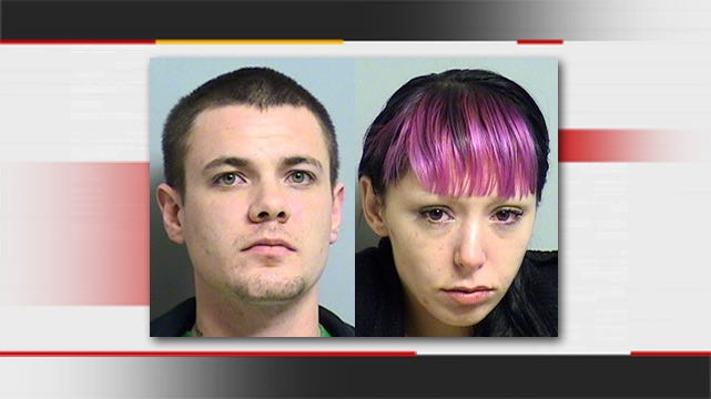Tulsa Couple Arrested With Stash Of Weapons, Drugs