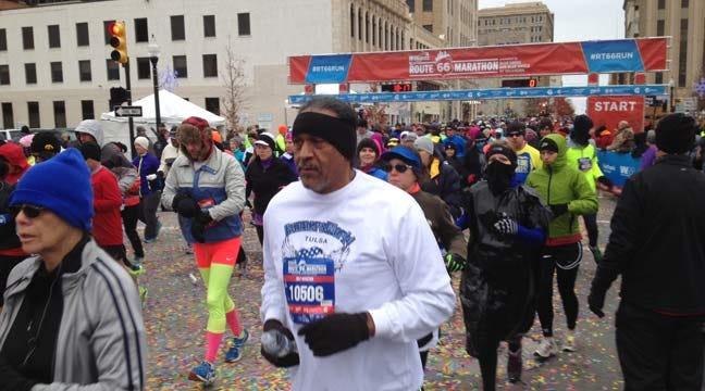 Route 66 Marathon Shows Thousands Tulsa Sites