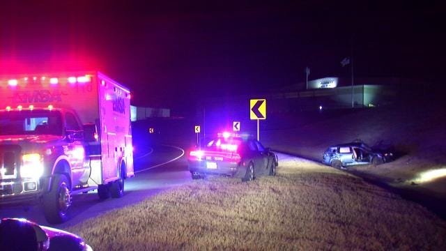 Two Injured In Sapulpa Rollover Wreck
