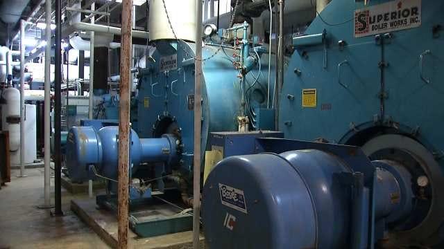 Tulsa's Edison Prep Heating School On One Boiler