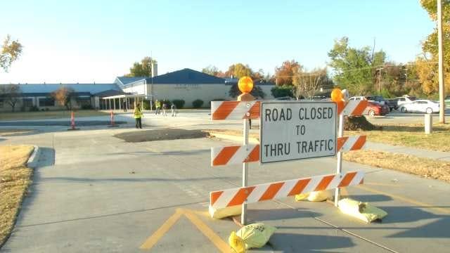 Construction Begins Near Tulsa's McClure Elementary