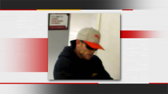 Police Seek To ID Man Who Robbed Bank In North Tulsa Grocery Store