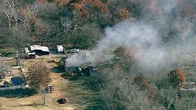 Fire Destroys Metal Barn Housing Trophy Business Near Jenks