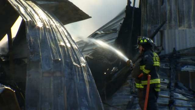 Jenks Man Laments Loss of Life's Work After Building Burns