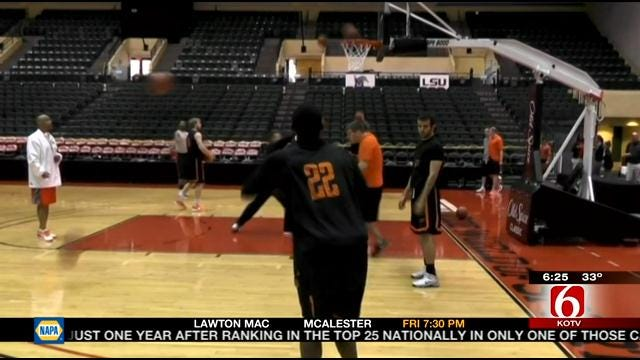 Oklahoma State Prepares For Old Spice Classic