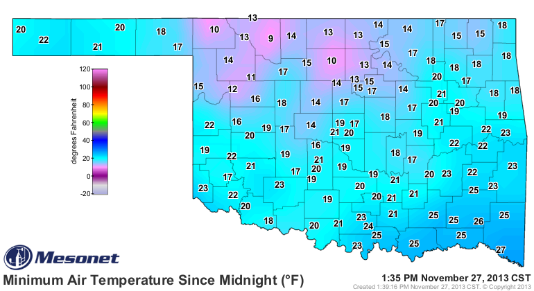 Record Cold Last Few Days, Moderating Trend Next Few Days.
