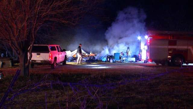Osage County Mobile Home Fire Kills 2 On Thanksgiving Day