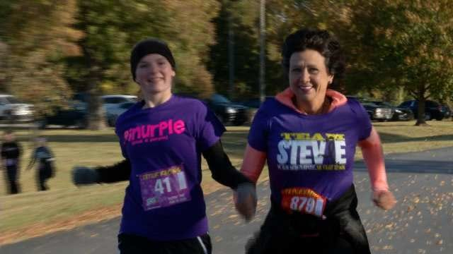 Oklahomans Fight Brain Cancer In 'Head For the Cure' 5K