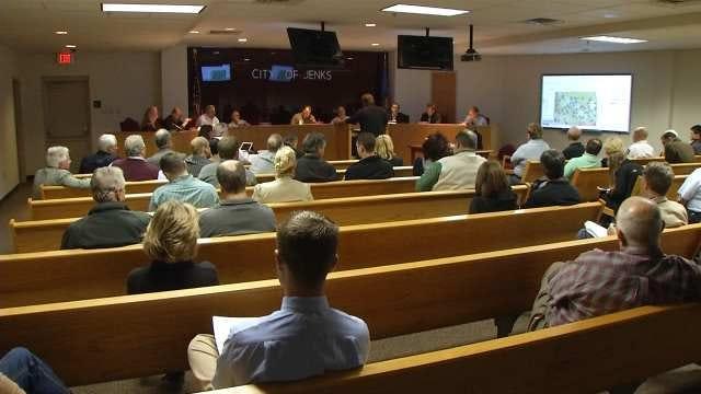 Jenks Council Votes To File Complaint Against Firefighters Union