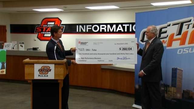 PSO Rewards OSU Tulsa's Conservation Efforts